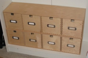 CD drawers