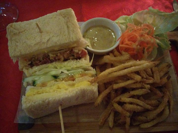 Resort club sandwich